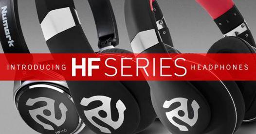 numark hf series