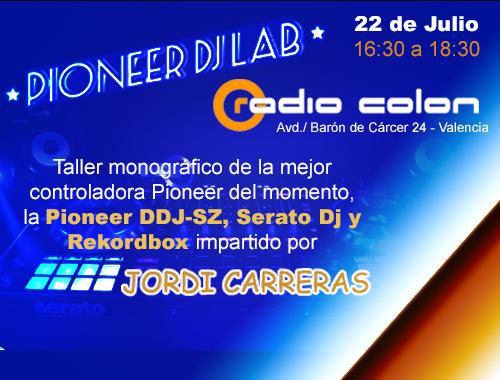 pioneer lab radio colon
