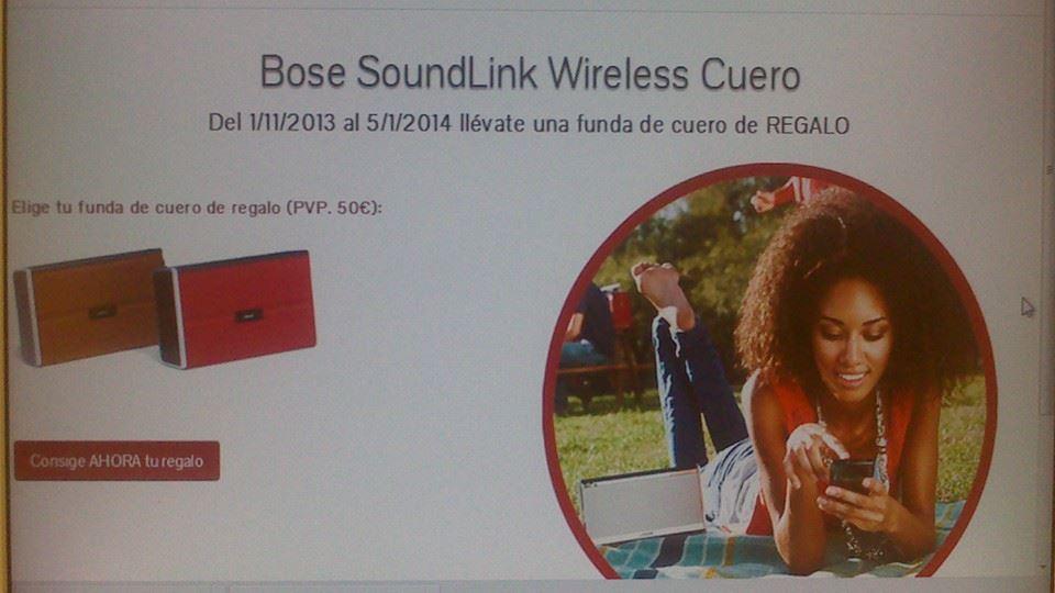 promocion soundlink cuero