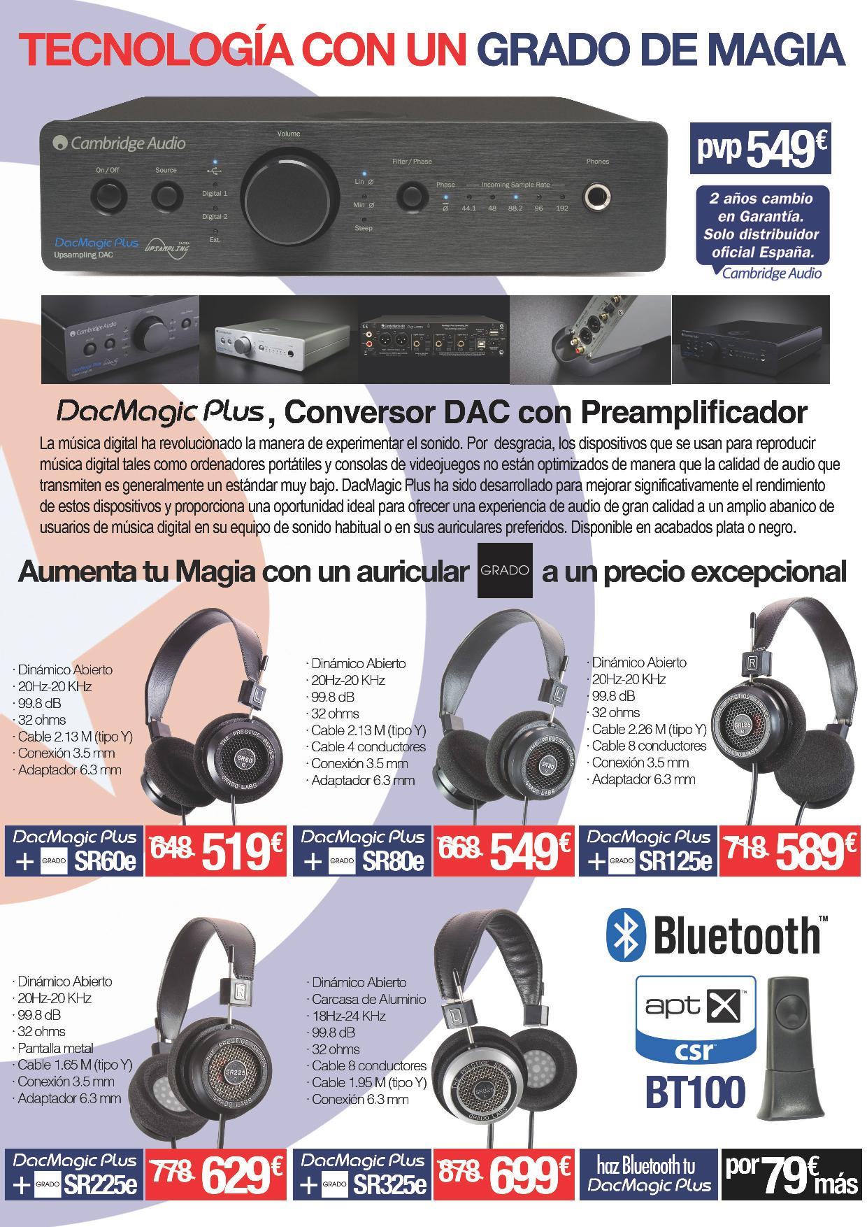 packs dacmagic plus mas grado
