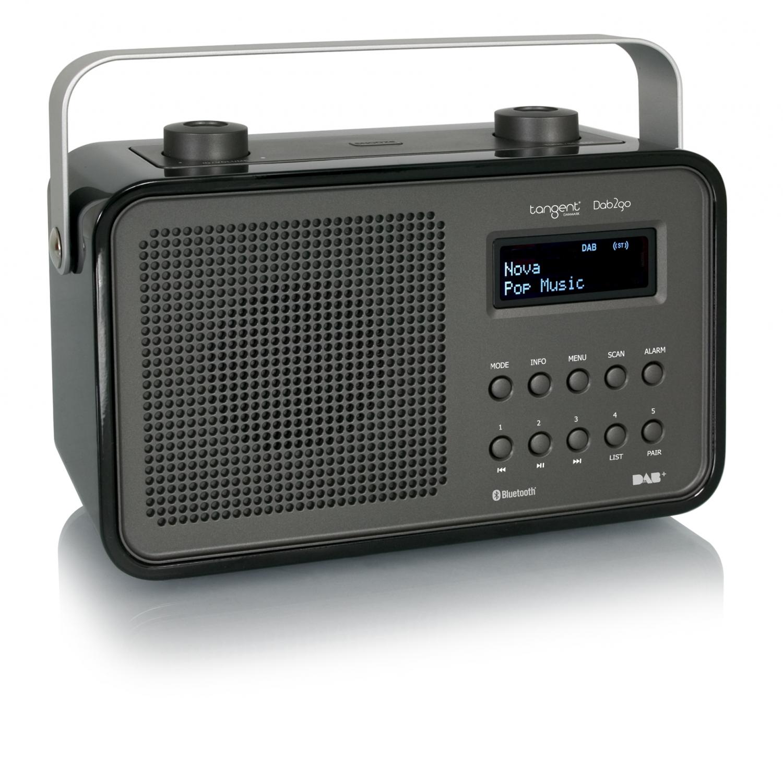 RADIO TANGENT DAB2GO BLUETOOTH negro