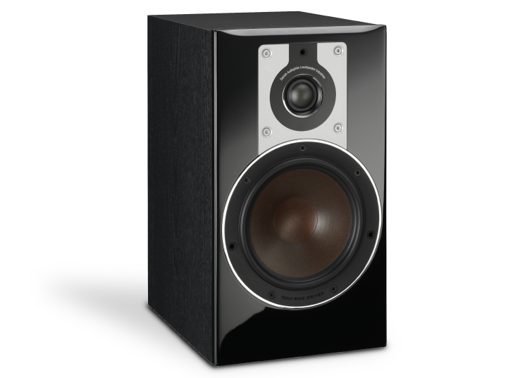 ALTAVOCES DALI OPTICON 2 (PAREJA) Black Ash Vinyl