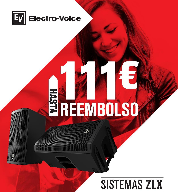 reembolso electro-voice