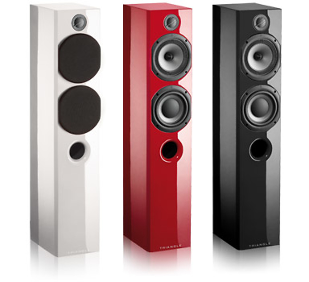 ALTAVOCES TRIANGLE COLOR FLOORSTANDER (PAREJA)