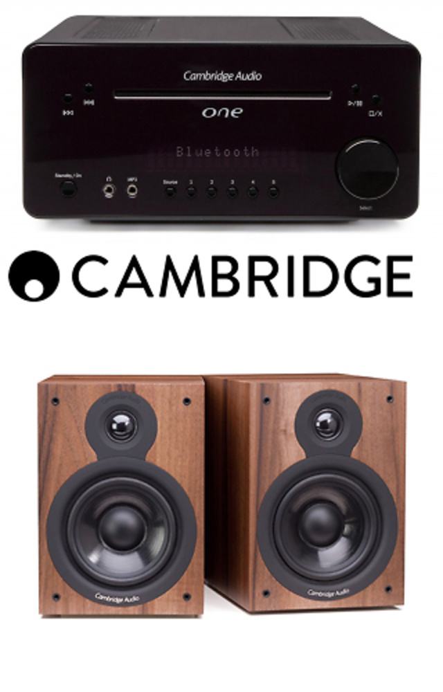 EQUIPO CAMBRIDGE ONE + ALTAVOCES SX60