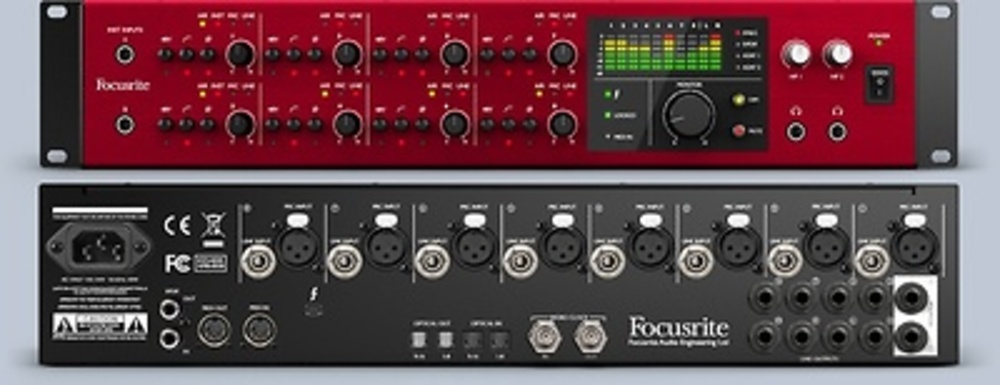 INTERFACE AUDIO FOCUSRITE CLARETT 8 PREX