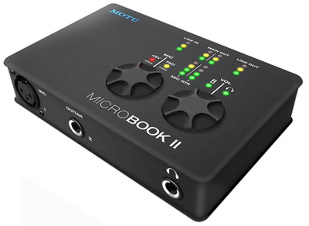 INTERFACE MOTU AUDIO MICROBOOK II