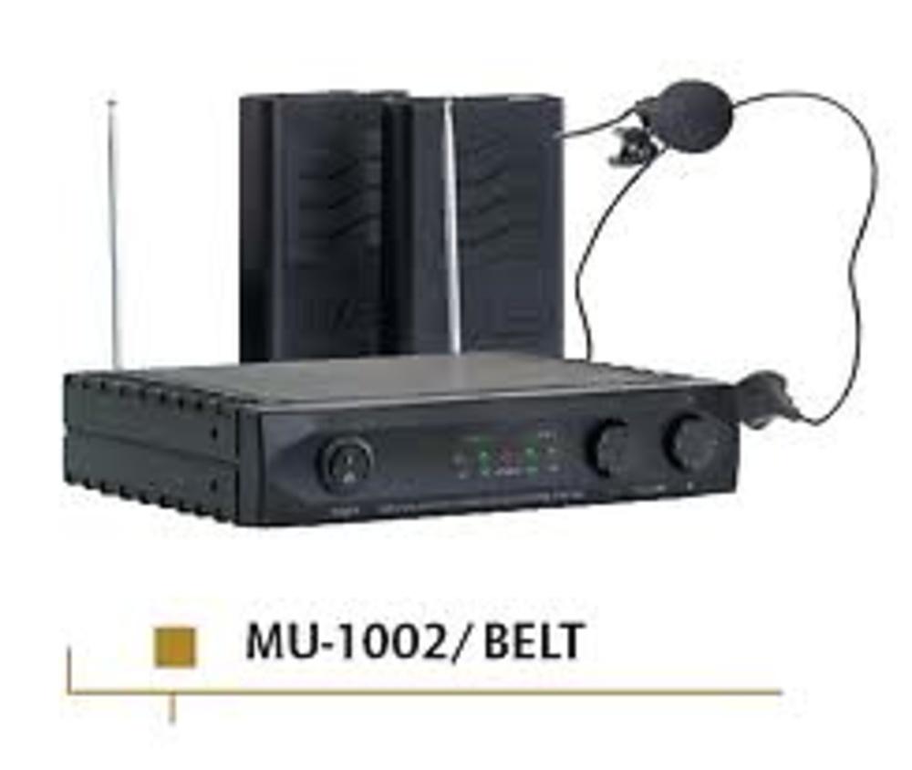 MICROFONO INALAMBRICO MU1002 BELT