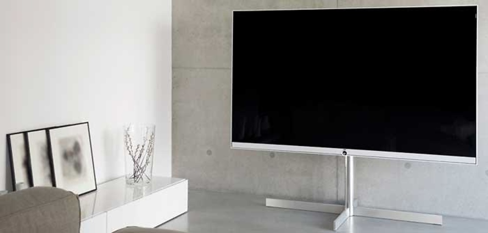 televisor loewe reference 75 uhd. Black Bedroom Furniture Sets. Home Design Ideas