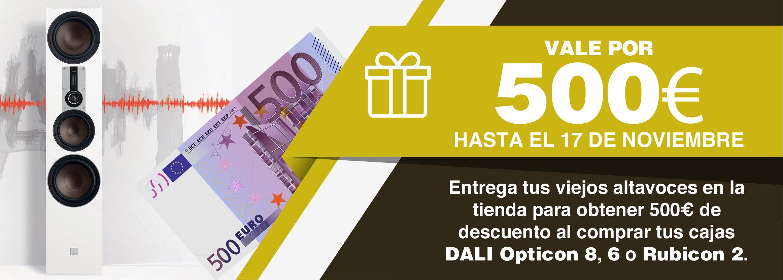 menos 500 euros
