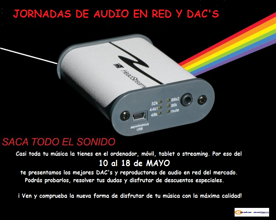 Jornadas de audio en red y dac's