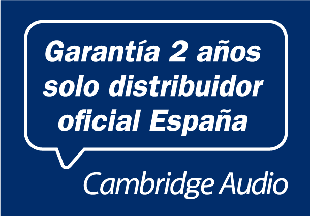cambridge auido garantia oficial