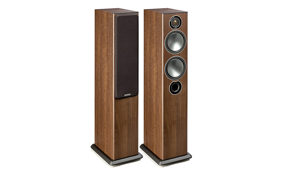 MONITOR AUDIO BRONZE 5 (PAREJA) nogal