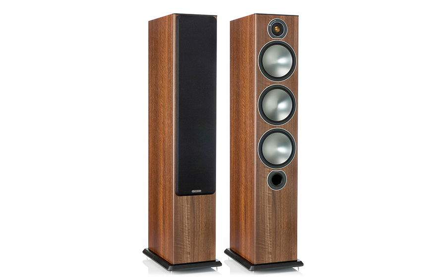 MONITOR AUDIO BRONZE 6(PAREJA) nogal