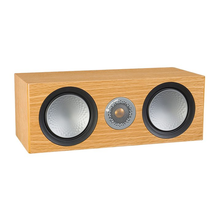 ALTAVOZ MONITOR AUDIO SILVER C150 natural oak