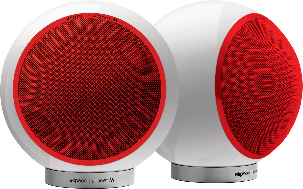 ALTAVOCES PLANET M 2.0 rojo/blanco