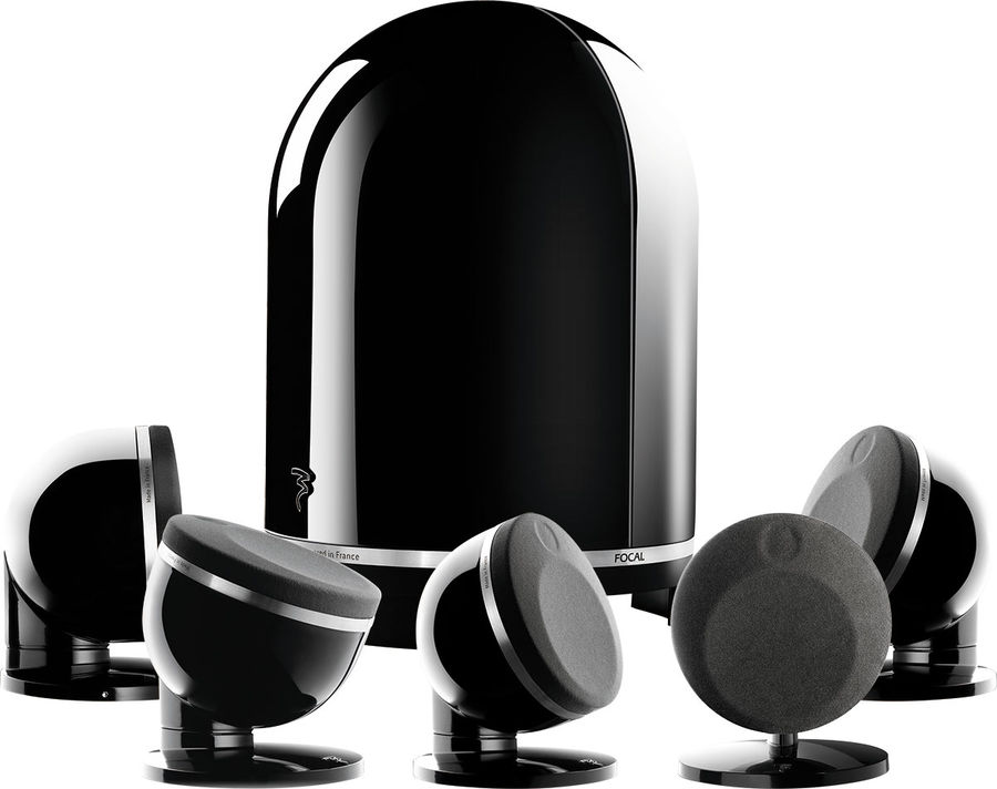 FOCAL DOME 5.1 NEGRO