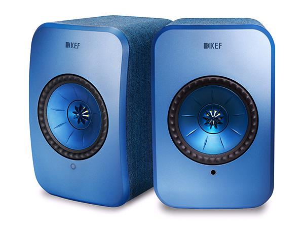 KEF LSX azul