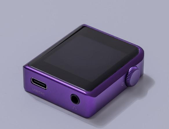 Shanling M0 púrpura