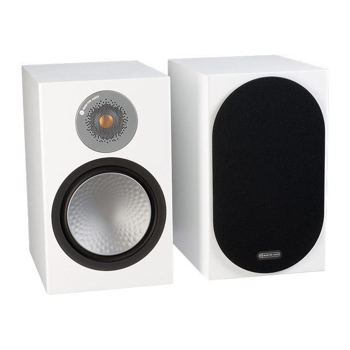 ALTAVOCES MONITOR AUDIO SILVER 100 (PAREJA) High Gloss White