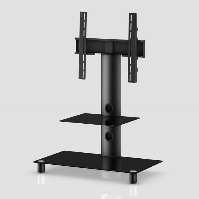 Peana TV con estante NEO-81 negro