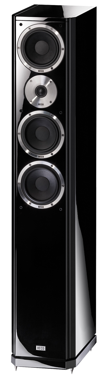 HECO Aleva GT 602 (pareja) negro