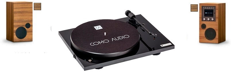 AMICO + AMICA + BLUETOOTH TURNTABLE negro