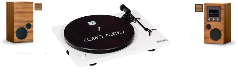 AMICO + AMICA + BLUETOOTH TURNTABLE blanco