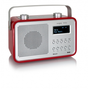 RADIO TANGENT DAB2GO BLUETOOTH Rojo