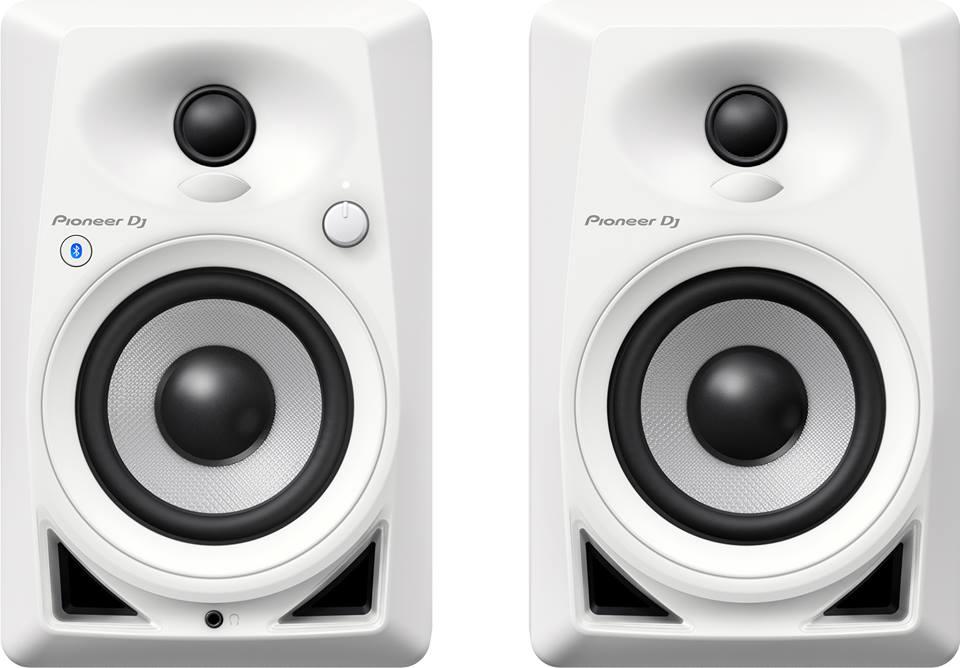 PIONEER DJ DM40-BT (pareja) blanco