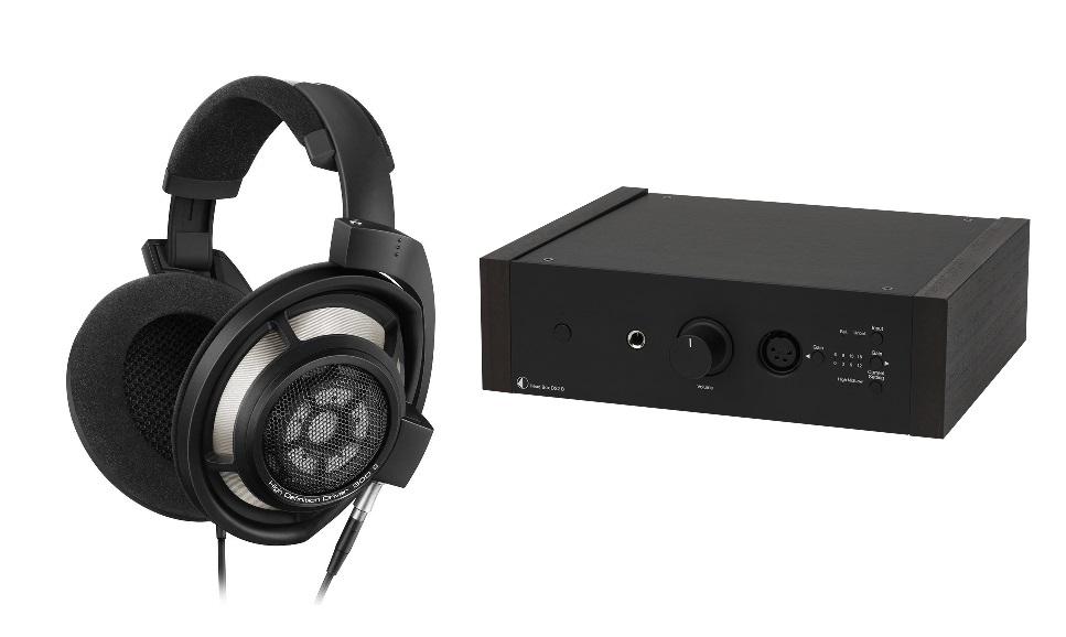 SENNHEISER HD800S + Head Box DS2 negro