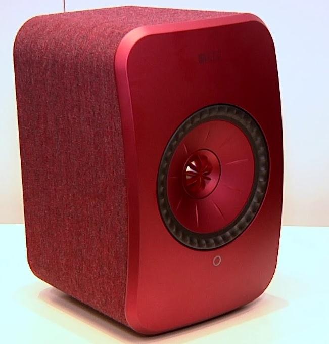 KEF LSX rojo