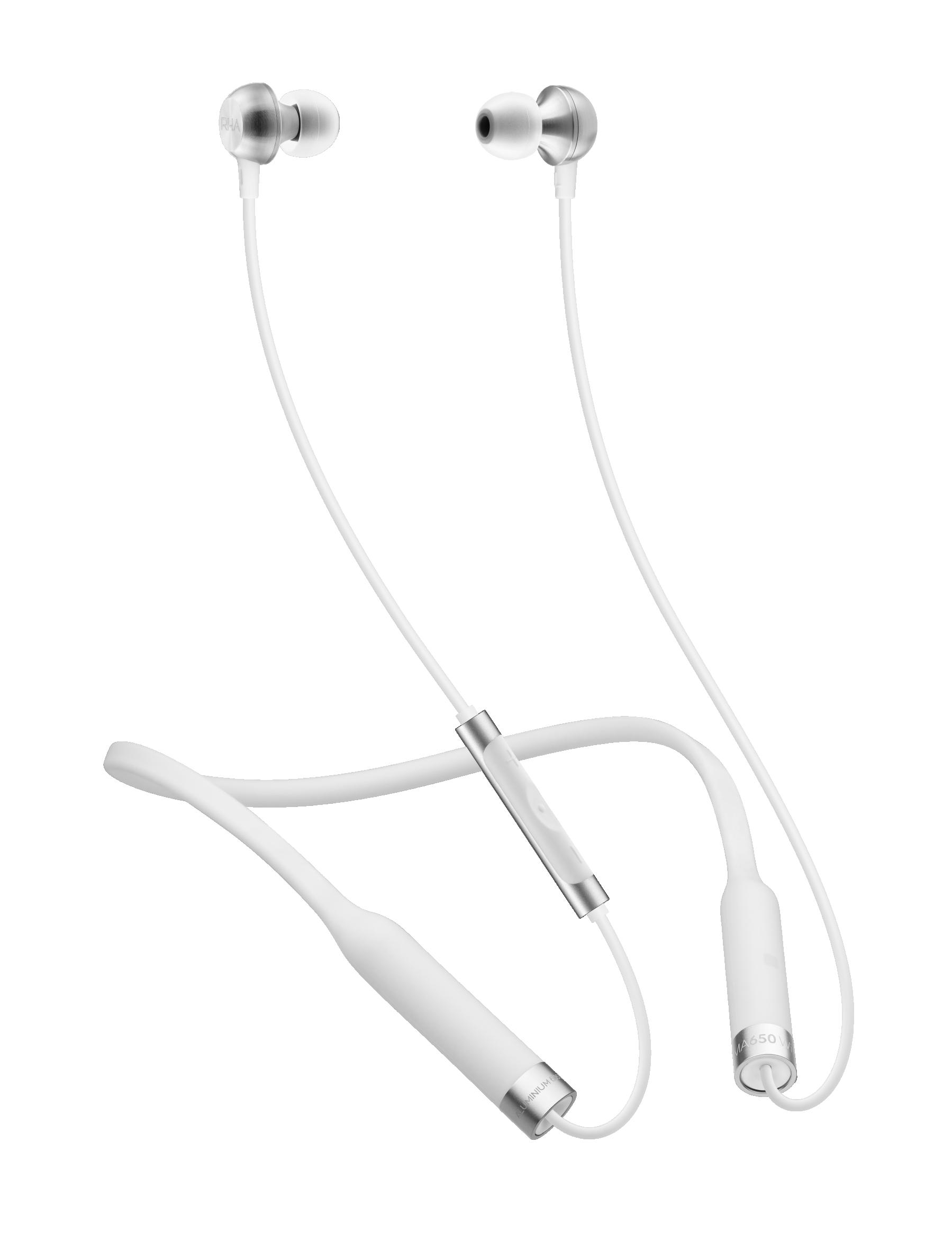 AURICULARES RHA MA650 Wireless blanco