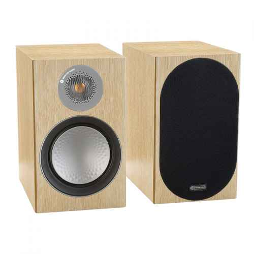 ALTAVOCES MONITOR AUDIO SILVER 100 (PAREJA) natural oak