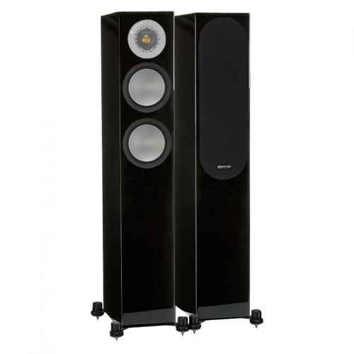 ALTAVOCES MONITOR AUDIO SILVER 200 (PAREJA) Negro High Gloss