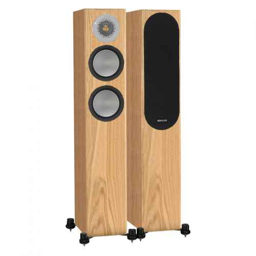 ALTAVOCES MONITOR AUDIO SILVER 200 (PAREJA) natural oak
