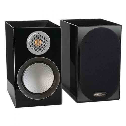 ALTAVOCES MONITOR AUDIO SILVER 50 (PAREJA) Negro High Gloss