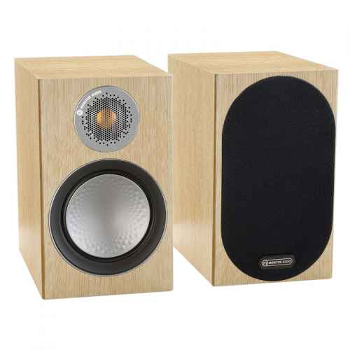ALTAVOCES MONITOR AUDIO SILVER 50 (PAREJA) natural oak