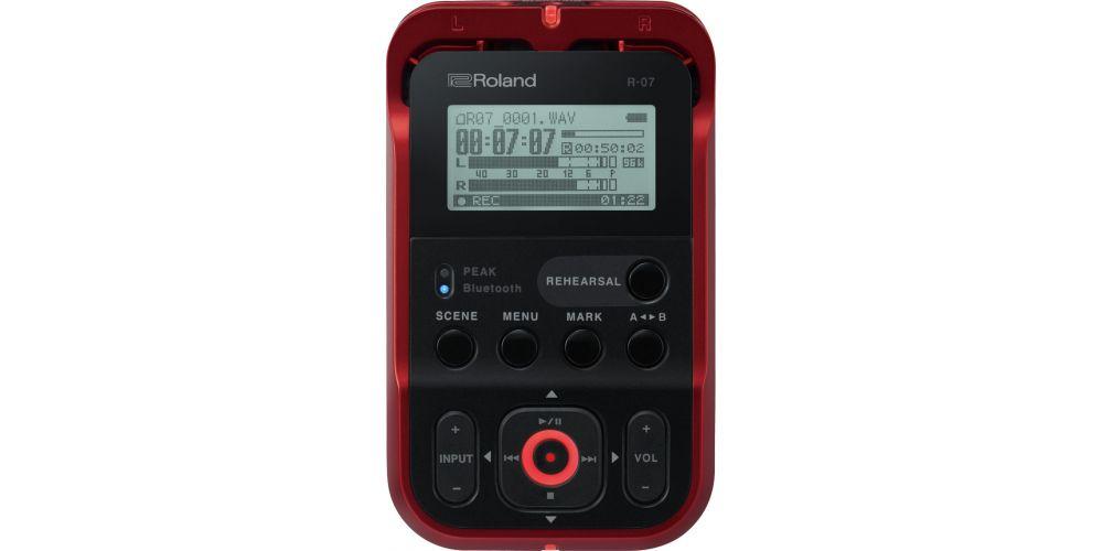 Roland R07 rojo