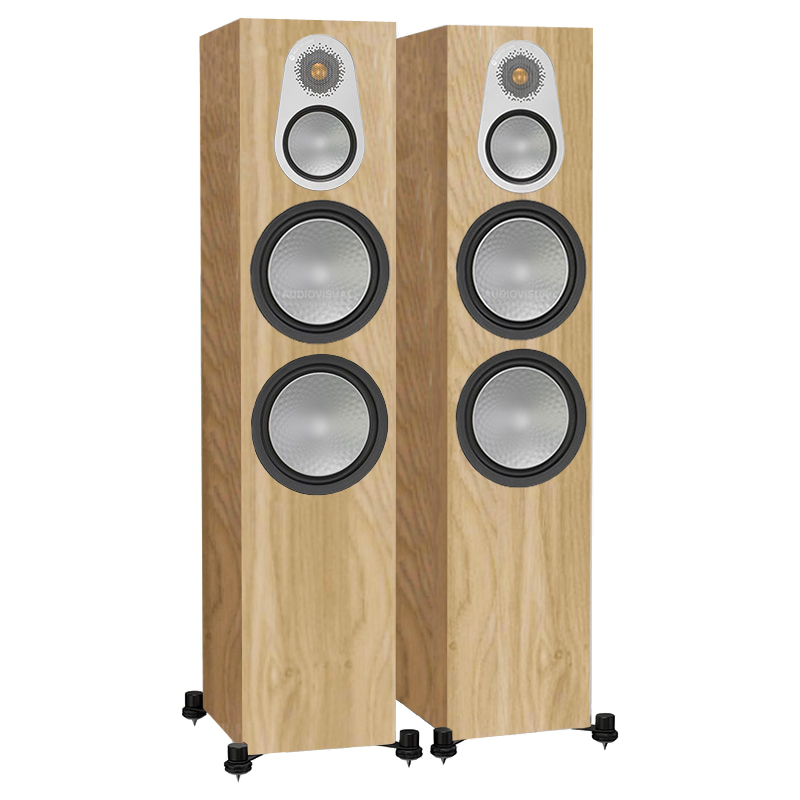 ALTAVOCES MONITOR AUDIO SILVER 500 (PAREJA) natural oak