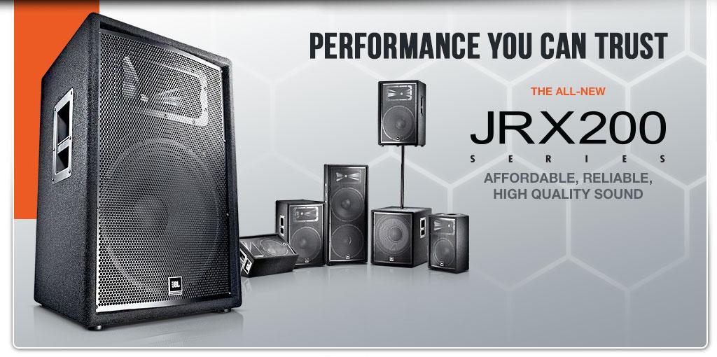 serie jrx2000 jbl pro