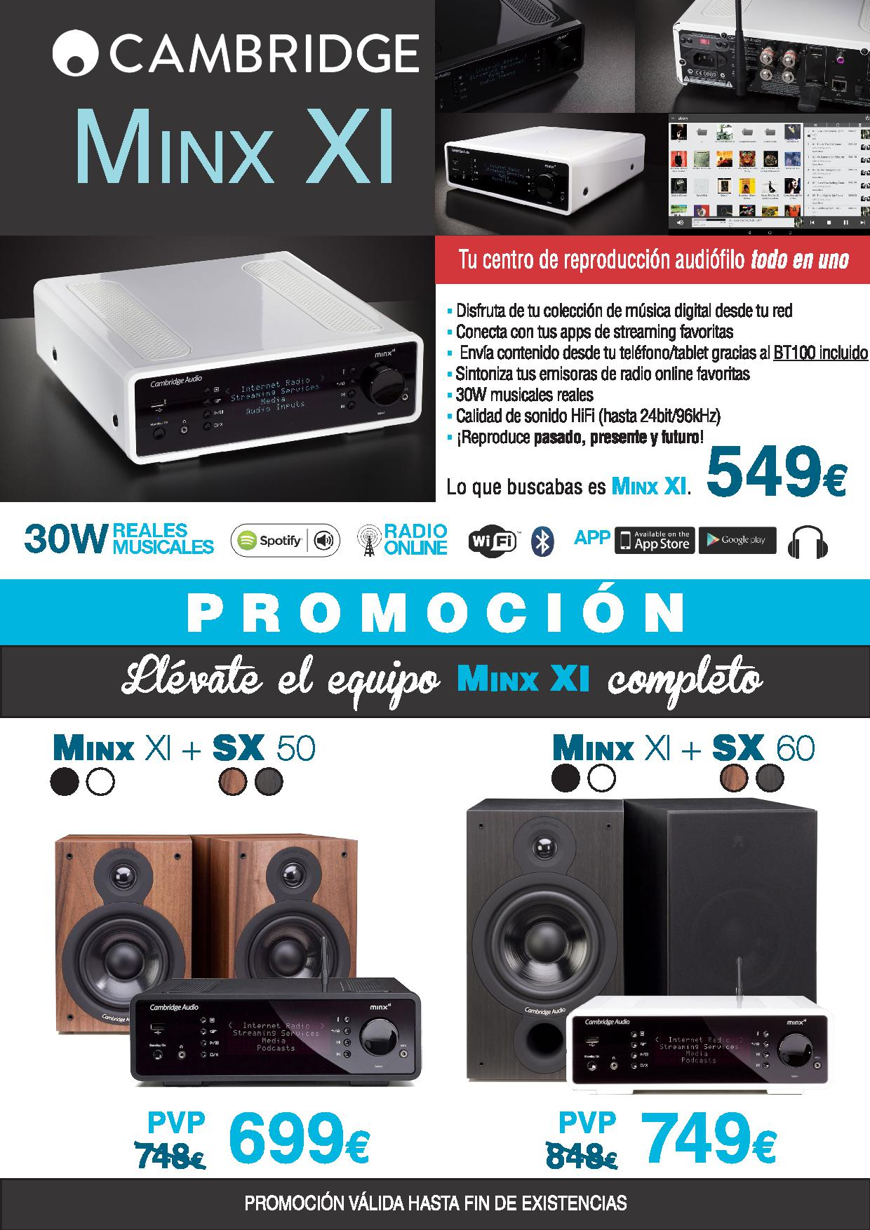 promocion cambridge audio