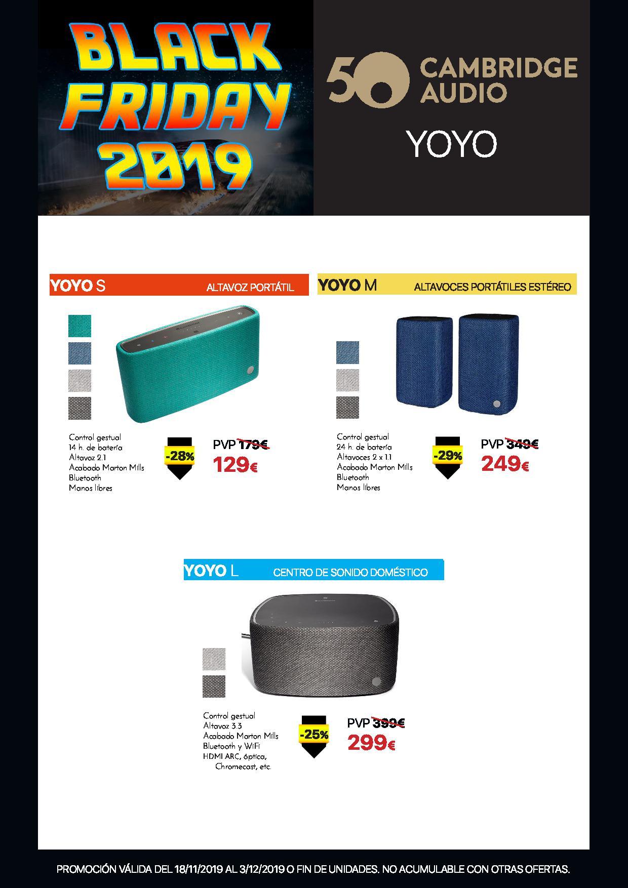 cambirdge yoyo black friday 2019
