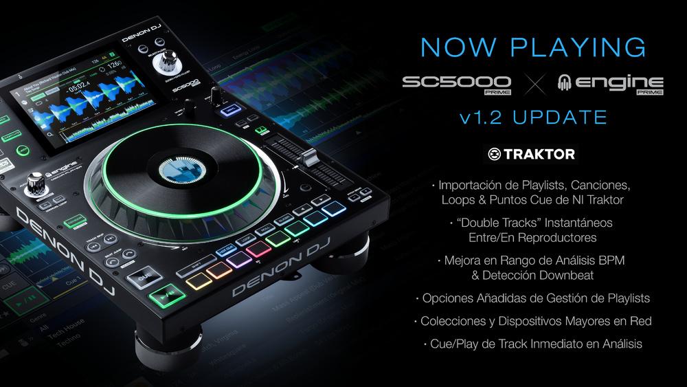 Actualización v1.2  Denon DJ
