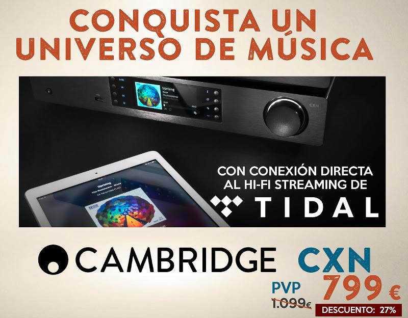 CXN: UNIVERSO DE MÚSICA