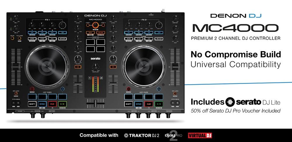 MC4000 con Serato Dj Pro al 50€