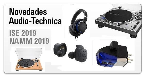 Novedades Audio-Technica ISE 2019 y NAMM  2019