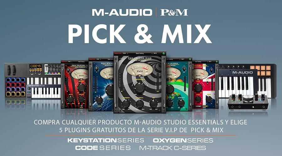 PROMOCIÓN ESPECIAL PLUG&MIX DE M-AUDIO