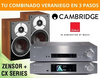 PROMOCION CAMBRIDGE AUDIO VERANO 2017