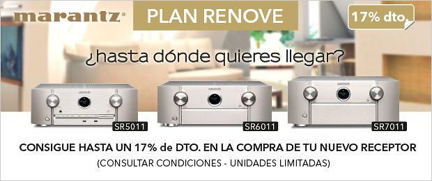 Plan Renove Marantz 2017